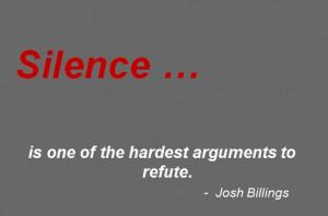 Hardest to refute ...