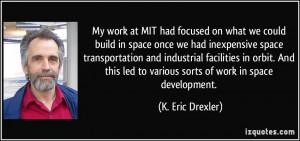 More K. Eric Drexler Quotes