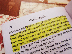 People come, people go – they'll drift in and out of your life