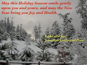 Holiday Season - Daily Inspiration - Daily Quotes