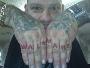 White Trash WalMart Tattoo :