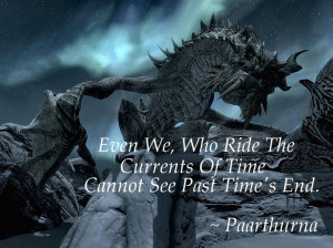 Skyrim Paarthurnax Quotes