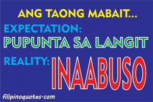 Filipino Love Quotes Tagalogjokes Sms Astig - kootation.com