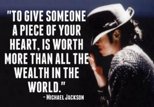 Excellent Quote by Michael Jackson with Image !!