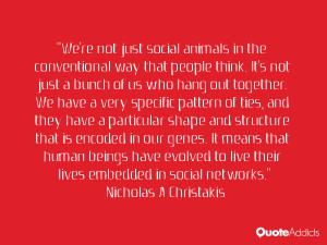 Nicholas A Christakis