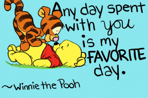 Winnie The Pooh And Tigger By
