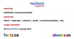 Taciturn Quotes
