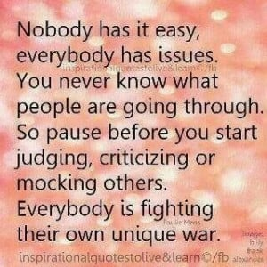 ... and annoyances of others. They may be doing the best they can