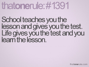 funny quotes about school tests school days funny quotes funny ...