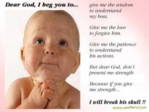 Woo Funny Photos » Blog Archive » A Funny Baby Prayer