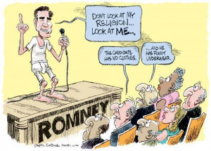 ... Mormon, if Mitt is the nominee Obama is guaranteed the White House