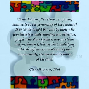 aspergers, autism quote T-Shirt by stanqrs