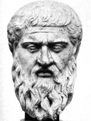 Bust of the great Greek philosopher, Plato.