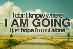 alone, hope, love, quote, text, wish