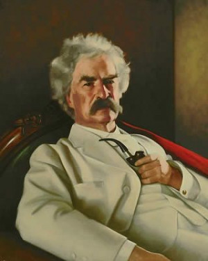 We're reading Twain's Feast together. Only at chapter 2 and really ...