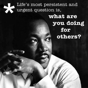 Celebrating Martin Luther King, Jr.; A Day of Community Service