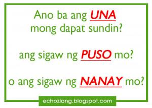 Gaano katindi ang LOVE? - Tagalog Love Quotes Collection