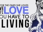 ... Quote, A quote that Juvia Lockser said in Anime series Fairy Tail