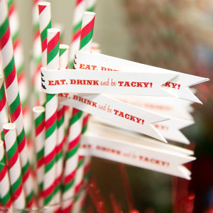tacky christmas party engagement party theme