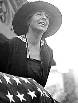Jeannette Rankin, First Woman in Congress