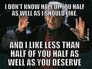 Bilbo Baggins!