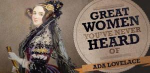 First computer programmer Ada Lovelace