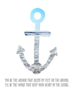 anchor quotes You Are My Anchor