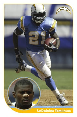 LaDainian Tomlinson Chargers Poster