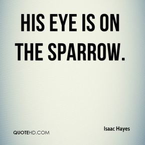Isaac Hayes - His Eye Is on the Sparrow.