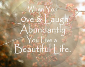 Beautiful Life Love Family Photo Qu ote Typography Nature Photo ...