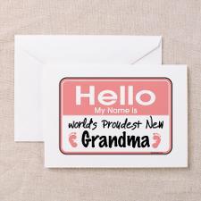 New Grandma Greeting Cards