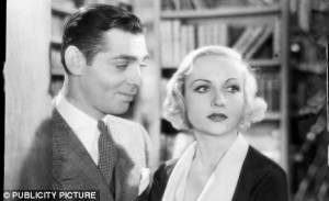 Golden couple: Clark Gable and Carole Lombard were among Hollywood's ...