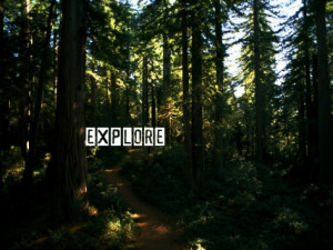 "Explore "" ~ Nature Quote"