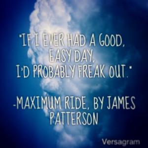 Maximum Ride Quotes