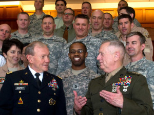 As a highly-educated four-star General, Mattis probably can spell it ...