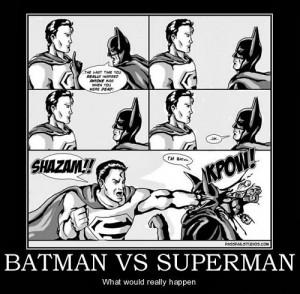 Superman Vs Batman Gossip