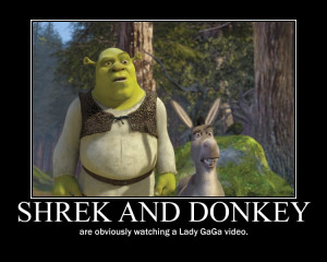 Donkey Shrek Funny Shrek and donkey by