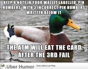 Came up with this trick when I traveled through Europe in case I ever ...