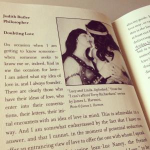 ... of certitudes and uncertainties in love, Butler returns to Freud