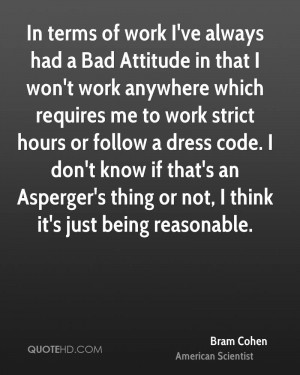 Quotes About Bad Attitude at Work