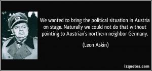 Austria quote #2