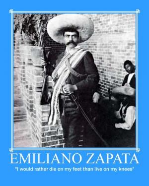 Emiliano Zapata Quotes Knees Images