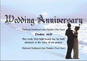 Christian Wedding Anniversary Bible Verses
