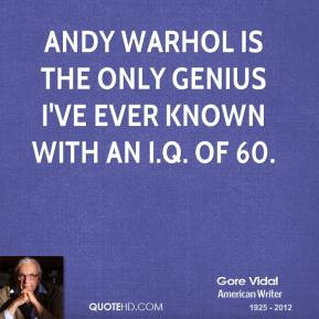If you want to know all about Andy Warhol, just look at the surface of ...