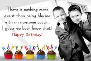 There is nothing more great than being blessed with an awesome cousin.
