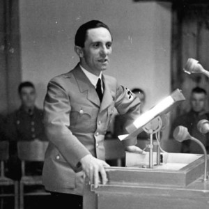 Joseph Goebbels Meets With Hitler to Discuss Elimination of Jews Hot