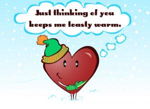 Sweet Hearts Keep Me Warm eCard