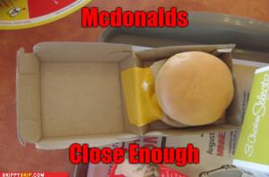 Funny Image Mcdonald Burger