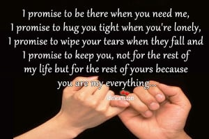 ... you quotes source http idlehearts com i promise to be there when you