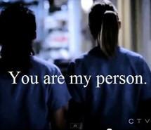 christina, friends, grey, greys anatomy, love, meredith, quotes, tv